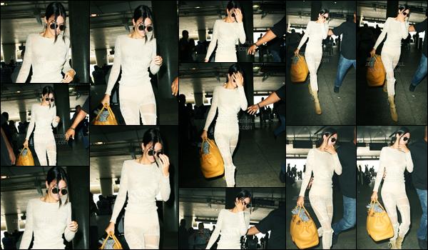 18.05.2017 ─ Kendall Jenner a été photographiée, alors, qu'elle arrivait à l'aéroport de LAX, étant, à Los Angeles.La belle brunette ne se fera pas beaucoup attendre au festival de Cannes puisqu'elle a évidemment pris un envol direction Nice. Sa tenue est un top !
