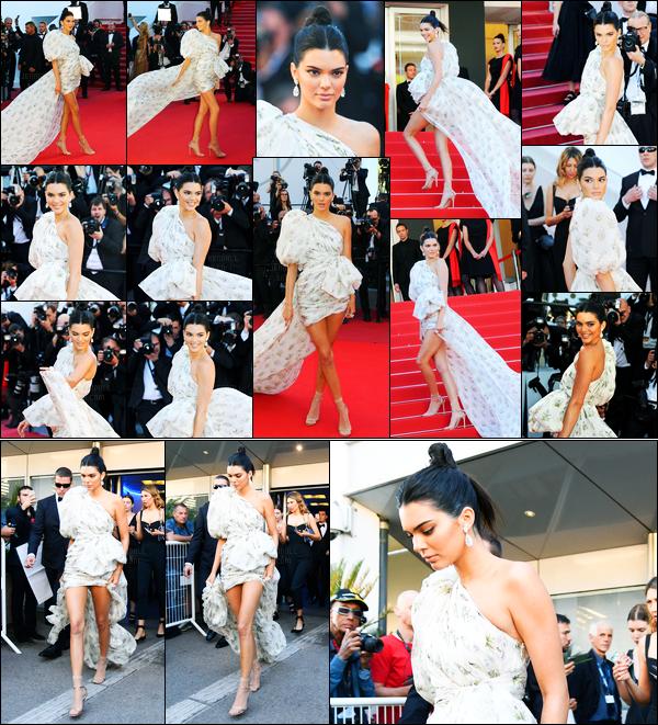 20.05.2017 ─ Kendall Jenner était présente lors de l'avant-première de « 120 battements par minute » à Cannes.Le lendemain de son arrivée, la belle brune a fait sa première montée de marche sur le tapis rouge. Concernant sa robe, elle est simple mais jolie, top