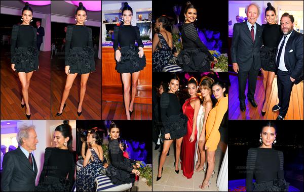 20.05.2017 ─ Kendall Jenner était présente lors de la soirée « Vanity Fair And Chopard », ayant lieu dans Cannes.Lors de la soirée, la belle a posée avec ces amis évidemment. La mannequin Kendall a changer totalement de look à la soirée, c'est un très beau top...