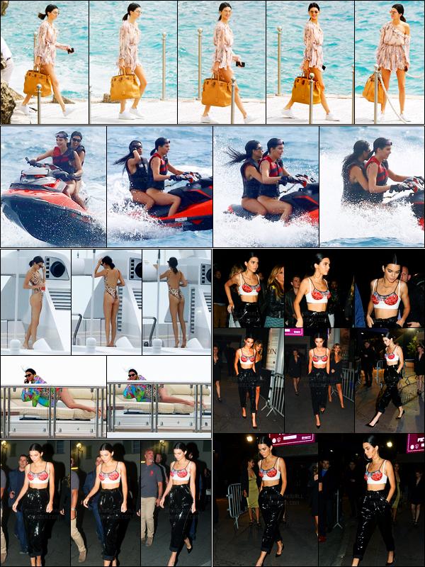22.05.2017 ─ Kendall Jenner a été photographiée alors qu'elle quittait son hôtel « Cap-Eden-Roc », dans Antibes.Journée chargée, elle a été vue faisant du jet-ski puis sur un yatch. Elle a été vue quittant le restaurant Michelangelo, enfin arrivant et quittant Gotha...