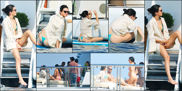 25.05.2017 ─ Kendall Jenner a été photographiée alors qu'elle profitait du temps libre sur un yatch dans Antibes.La belle mannequin profite toujours du beau soleil pour profiter de son temps libre sur le yatch. Concernant sa tenue, c'est top de ma part. Vos avis ?