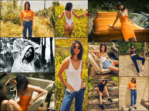Découvrez le photoshoot pour « Kendall + Kylie - DropTwo » de Kendall !