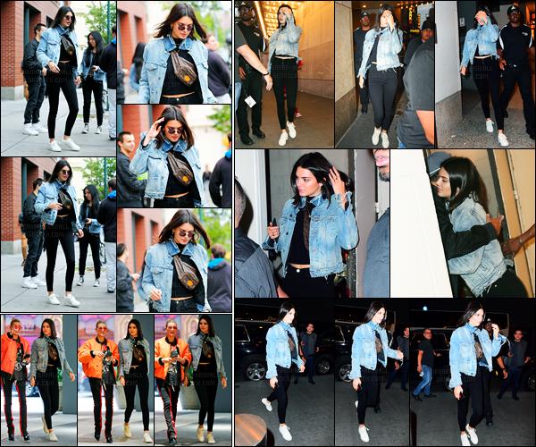 04.06.2017 ─ Kendall Jenner a été photographiée, alors, qu'elle quittait l'appartement de Kanye West, dans Soho.Par la suite, Kendall J. a été photographiée arrivant puis quittant l'église Hillsong puis dans les rues de New-York C. Concernant sa tenue, c'est un top !