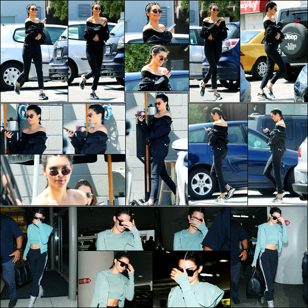 30.06.2017 ─ Kendall Jenner a été photographiée arrivant puis quittant le «Joan's on Third», étant à Los Angeles.Un peu plus tard, le même jour, la belle a été photographiée arrivant à l'aéroport de LAX... Concernant sa tenue, c'est assez jolie, c'est un top pour moi !