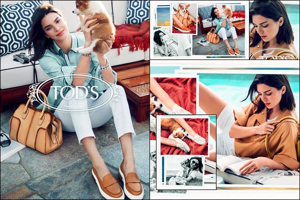 Découvrez le photoshoot pour la marque «Tods » de Spring/Summer 2018 !