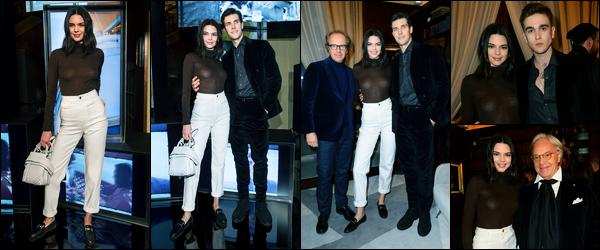 14.01.2018 ─ Kendall Jenner était présente lors du lancement de la campagne « Tod's Spring 2018 », dans Milan.C'est donc en Italie que notre belle mannequin s'est rendue, nous avons peu de photos lors de l'événement... Mais sa tenue est un très jolie top de moi !
