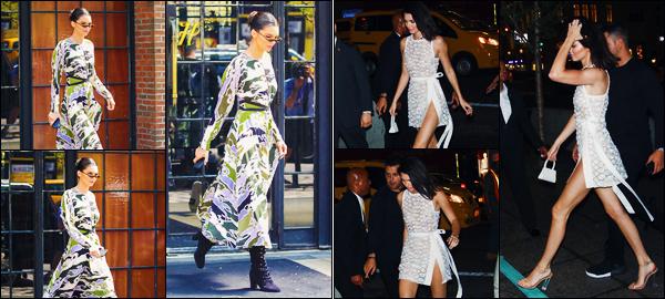 -03/05/2018- ─ Kendall Jenner a été photographiée alors qu'elle quittait son hôtel qui se situe dans la ville de New-York !Plus tard dans la journée, la belle mannequin Kendall J. a été photographiée alors qu'elle arrivait à l'événement « Tiffany & Co » ! Ses tenues sont tops !