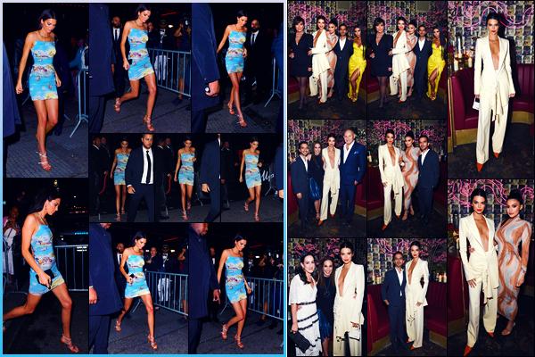 -08/05/2018- ─ Kendall Jenner était présente lors du gala « The Business Of Fashion » ayant lieu dans la ville à New-YorkLa veille, la belle mannequin a été photographiée, alors, qu'elle arrivait à l'afterparty du MET Gala ! Concernant ses tenues, c'est deux tops de ma part !