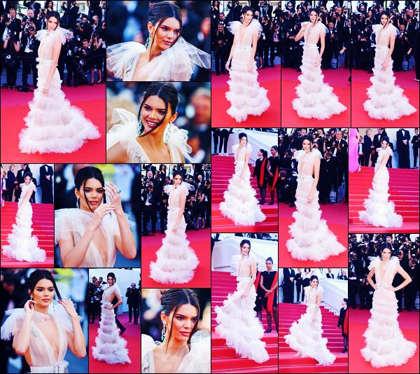 -12/05/2018- ─ Kendall Jenner était présente lors de l'avant-première de « Girls Of The Sun », lors du festival de Cannes !La belle mannequin K. a donc posée sur le célèbre tapis rouge du festival de Cannes... Concernant la tenue de celle-ci, c'est un beau top pour ma part...