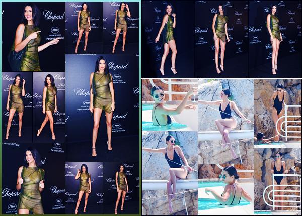 -11/05/2018- ─ Kendall Jenner était présente lors du « Secret Chopard », qui avait lieu dans la ville de Cannes, en France !Plus tôt dans la journée, la belle mannequin K.J  a profiter de son temps libre à l'Eden-Roc Hotel... Concernant sa tenue, c'est un beau top pour ma part !