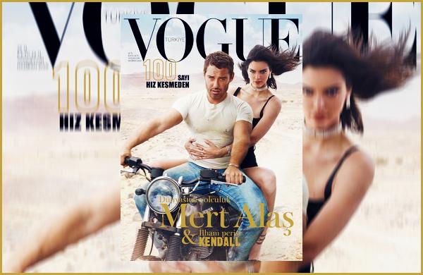 Kendall J. fera la couverture du magasine « Vogue Turkey » du mois de Juin !