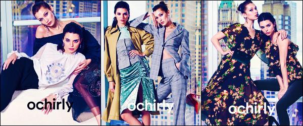 Kendall a pris la pose pour la marque « Orchily » de la collection d'automne