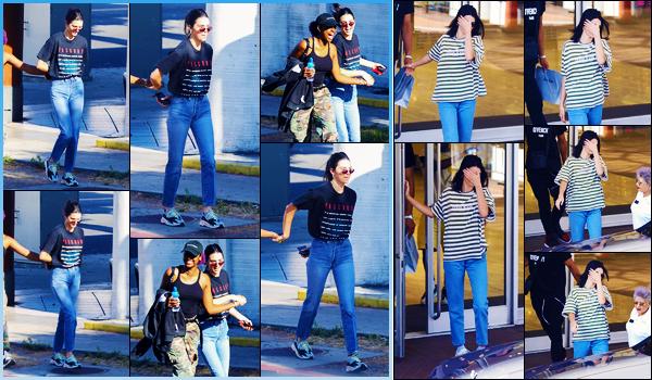 -27/06/2018- ─ Kendall Jenner a été photographiée, alors, qu'elle quittait le restaurant « Japanese BBQ », à Los Angeles !Le lendemain, la sublime Kendall Jenner a été photographiée dans les rues de Beverly Hills ! Concernant ses tenues, c'est deux beaux tops pour ma part !