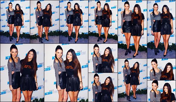 -12/05/2012- ─ Kendall Jenner était présente lors du « 102.7 KIIS FM's Wango Tango » qui avait lieu étant à Los Angeles.La belle brunette Kendall a pris la pose aux côtés de sa petite s½ur, Kylie Jenner... Concernant la tenue de celle-ci, c'est un très jolie top pour ma part !