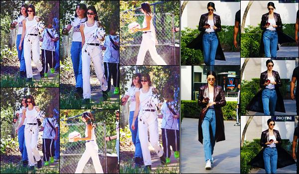 -17/03/2019- ─ Kendall Jenner a été photographiée alors qu'elle quittait le service religieux de Kanye West à Los Angeles.La belle mannequin a été photographiée le lendemain, faisant du shopping à Topanga Canyon Mall, à Woodland Hills... Ses tenues sont des beaux tops !