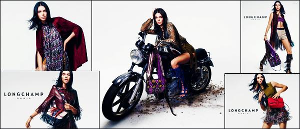 '-● CAMPAGNE- Kendall Jenner a posée pour : « Longchamp SS19 » de la nouvelle campagne !