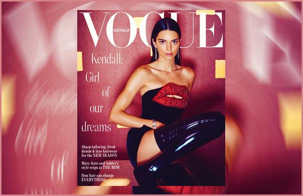 '-● MAGAZINE- Kendall Jenner a pris la pose pour « Vogue Australia » pour le mois de Juin !