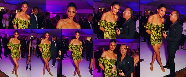 -23/05/2019- ─ Kendall Jenner était présente à l'after-party du « amfAR » à Hotel du Cap-Eden-Roc dans le Cap d'AntibesLa mannequin qui a changer de tenue après la cérémonie, était donc bien présente aussi à l'after-party ! Concernant la tenue de celle-ci, c'est un jolie top