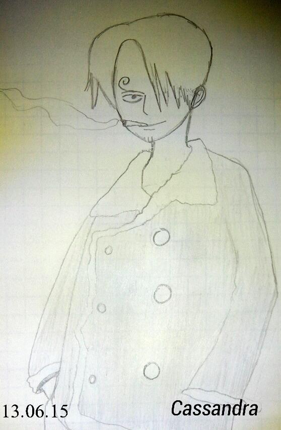 Dessin Sanji