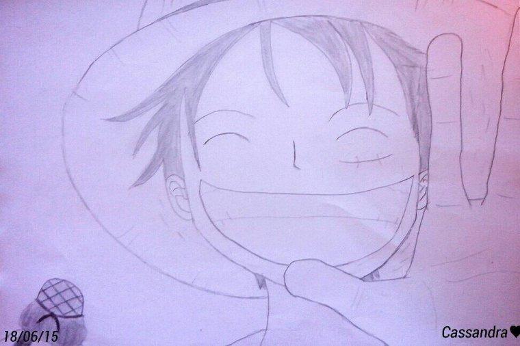 Dessin Luffy et Usopp