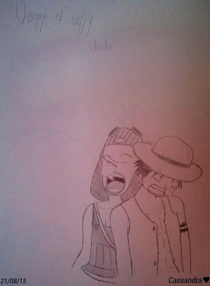 Usopp et Luffy dodo