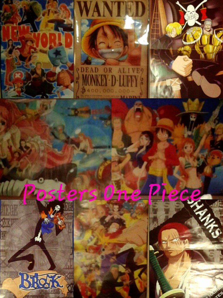 Mes collections One Piece