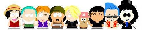 Les mignons et South Park en One Piece