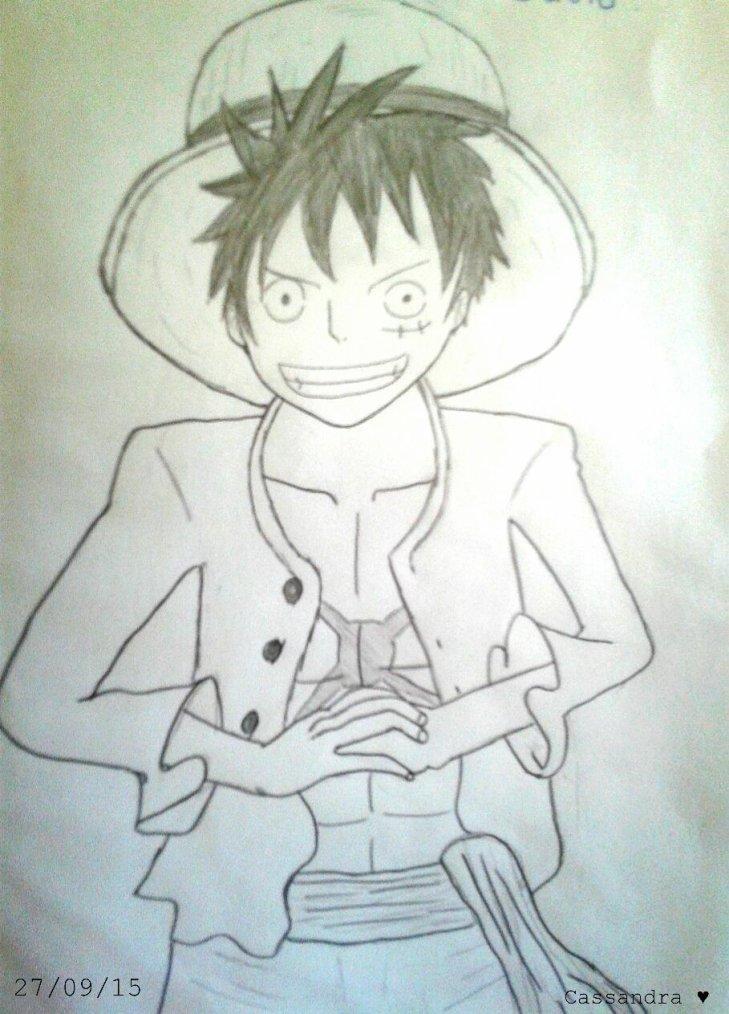 Dessin Luffy