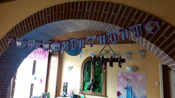 Fête d'anniversaire de Sara