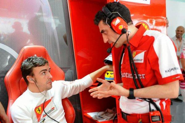 GP de Bahrein(vendredi) : Fernando a dit