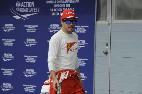 GP de Bahrein(samedi) : Fernando a dit