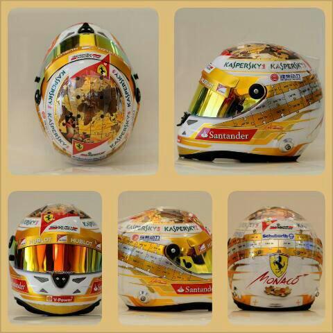 Un nouveau casque pour Fernando !!