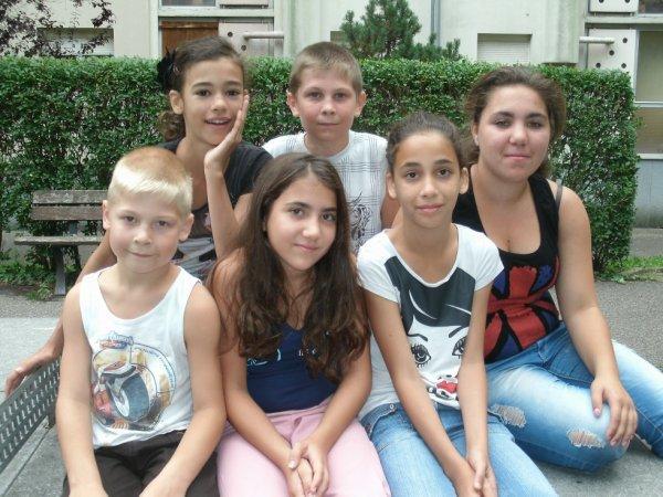 les six cousins cousines