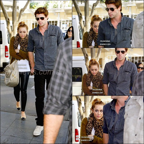 ". 20.06.11 - Miley  accompagnée de son chéri Liam, sont allés déjeuner à Wagamama à Sydney. Ils ont ensuite, été faire du shopping dans Sydney. 20.06.11 - Miley as été vu à l'aéroport de Syndey direction Brisbane.   + Miley dans l'émission ""Sunrise"" en Australie. ."