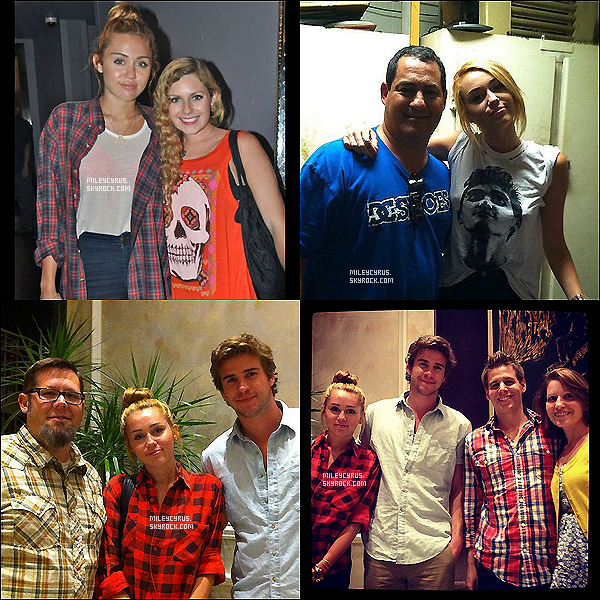 . 20/06/2012 - Miley, Jen, et Jenna (une amie) faisant du shopping à Los Angeles ! Top or Flop ?  .