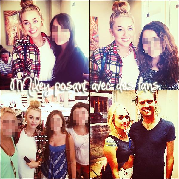 . 27/07/12 - Miley à été aperçue dans Philadelphie avec son ami photographe Vijat Mohindra.   .