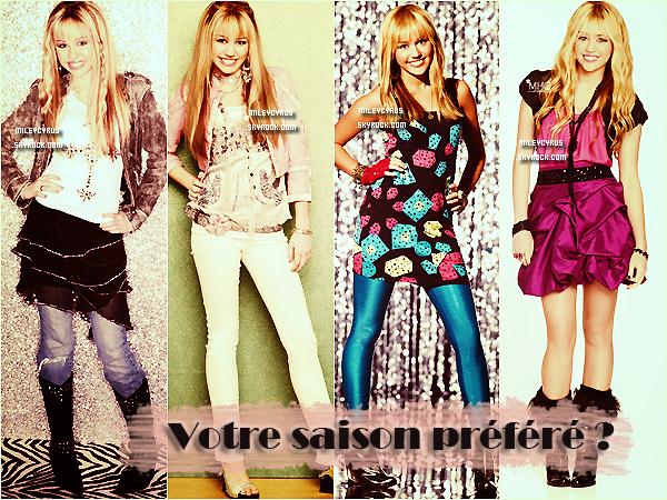 . Aujourd'hui nous sommes le 24 mars 2013 et ça fait exactement 7 ans que le premier épisode de Hannah Montana à été diffusé sur Disney Channel. D'ailleurs #7YearsOfHannahMontana est en tendance mondiale sur Twitter ! Alors faites-nous partager vos moments préférés ou souvenirs Hannah Montana :) .
