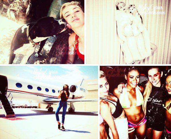 . 15/07/2013 : Miley était présente sur le plateau de Good Morning America à New York.   .