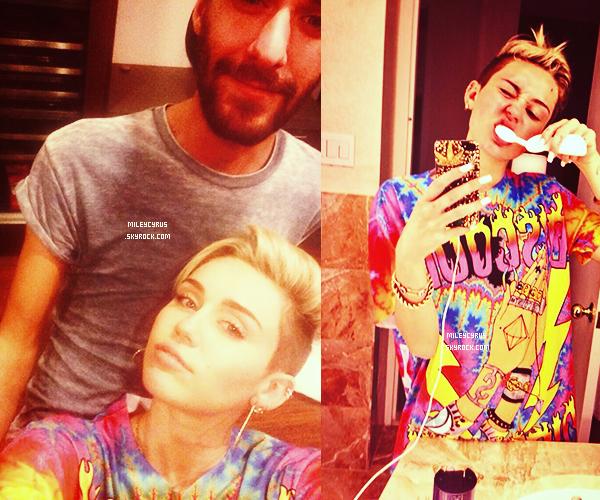 . | 26/09/2013 | Photoshoot Magazine | Miley a posé pour le magazine Fashion Magazin du mois de novembre. Magnifique! .