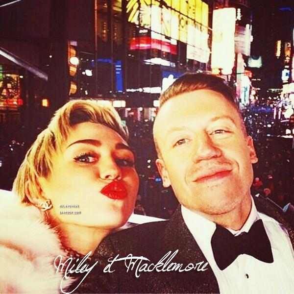 . |31 décembre 2013 | Apparences | Miley arrivant pour les répétitions du  Dick Clark's New Year's Rockin' Eve à Times Square à NY. .