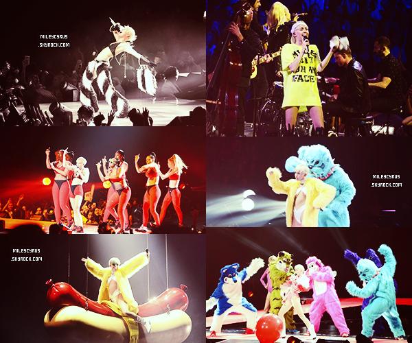 . |27/02/2014 | Tournée |  Miley et le Bangerz Tour à Phoenix!  .