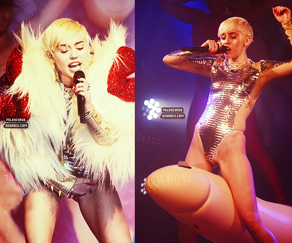 . |09/05/2014 | Performances | Miley au GAY CLUB à Londres !  .