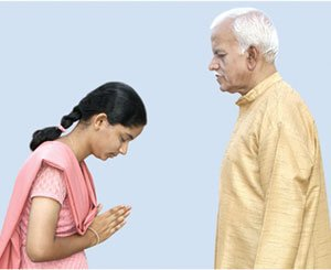 science behind namaskara........................................the indian way of gesture of greeting to  a person
