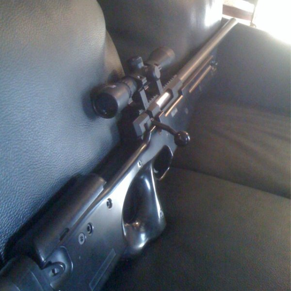 mauser aw 308 ( asg ) 2 joules ,