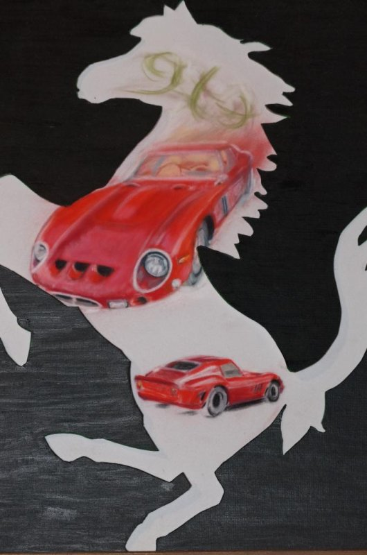 250 GTO forever!!!!! Pastel en chantier