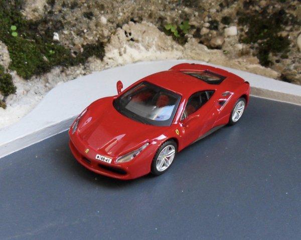 Ferrari 488 GTB Bburago