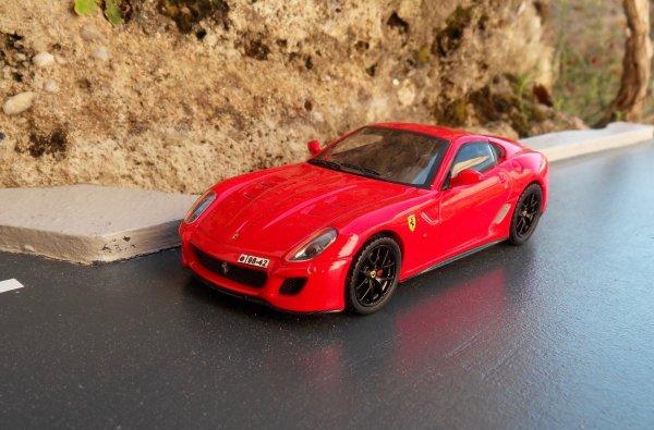 Ferrari 599GTO Hotwheels