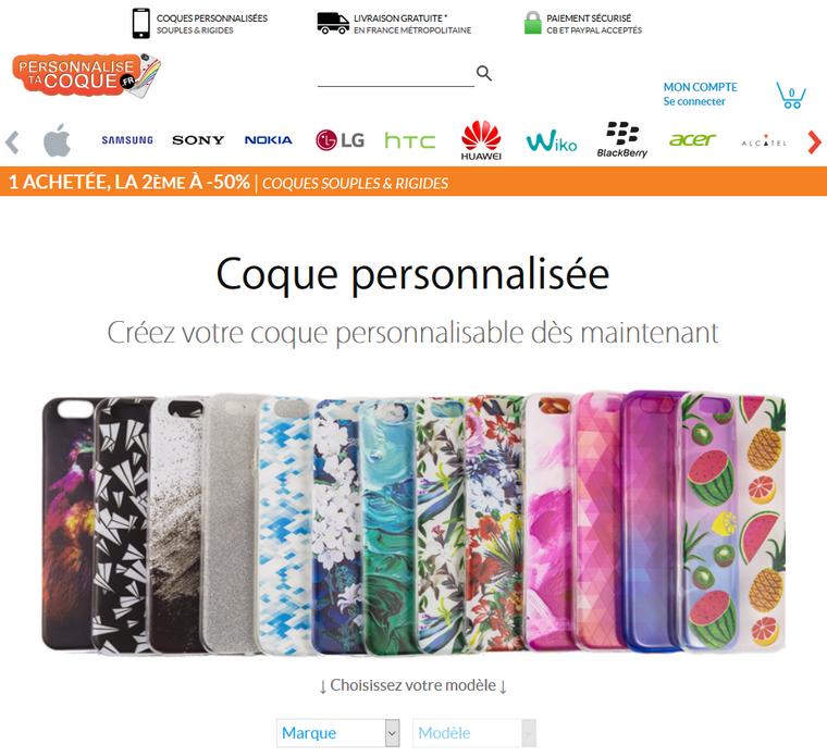 Site et Blog : Personnaliser sa coque de portable