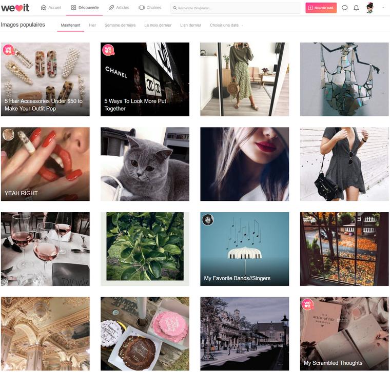 Flickr - Pinterest & We Heart It