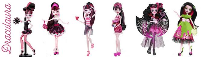Collection : Poupées Monster High (article refait)